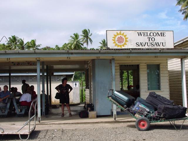 Savusavu Airport Terminal, Vanua Levu, Fiji Islands (https://jamesmcgillis.com)