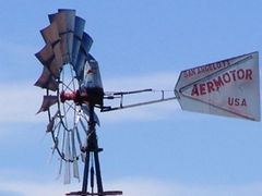An Aermotor USA windmill west of Hovenweep National Monument, Utah - Click for larger image (http://jamesmcgillis.com)