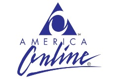 America Online logo, later to become AOL, and still later to slip into internet obscurity - Click for larger image (http://jamesmcgillis.com)