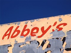 The 'Abbey's' outpost on Old-66 is long gone - Click for larger image (http://jamesmcgillis.com)