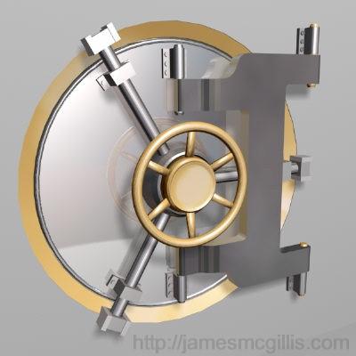 Bank Vault Armored Door