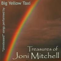 "Treasurers of Joni Mitchell - The ""Big Yellow Taxi"" Album Cover (http://jamesmcgillis.com)"