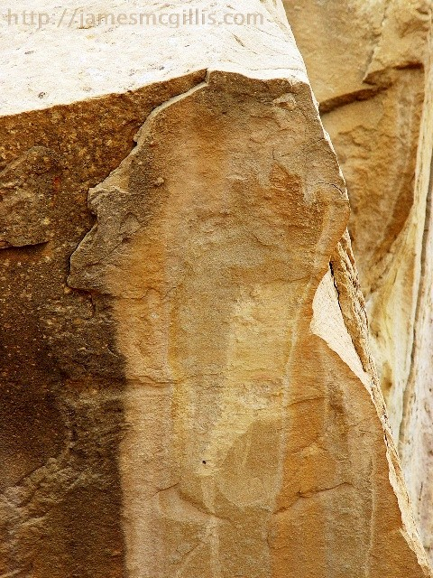 Lizard Man, the Spirit of Pueblo Bonito, Chaco Canyon, New Mexico - Click for larger image  (http://jamesmcgillis.com)