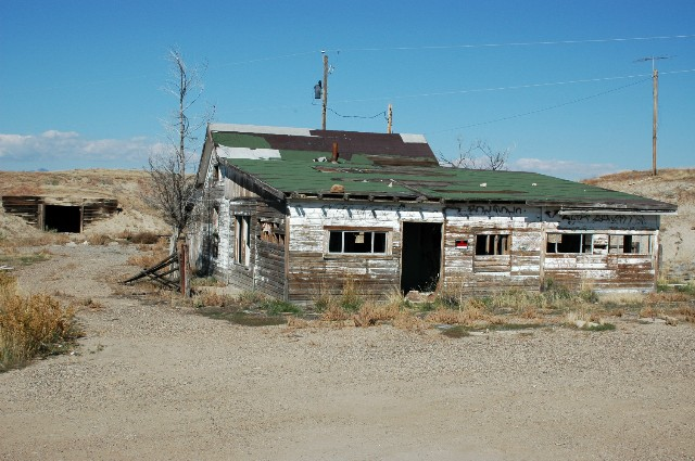 Abandoned home in Cisco, Utah