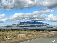 Clark Mountain, in the Mojave Desert. The area has seen a 90% drop in the desert tortoise population in the past few decades - Click for larger image (http://jamesmcgillis.com)
