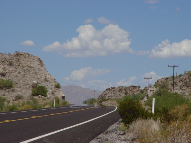Scene on US Highway 60, west of Wickenburg, Arizona (http://jamesmcgillis.com)