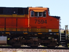 The diesel engine on a diesel-electric locomotive can be turned on and off at will - Click for larger image (http://jamesmcgillis.com)