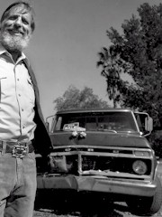 By the time Edward Abbey was through with his F-100 Ford truck, it had little more than sentimental value - Photo credit Jack Dykinga - Click for larger image (http://jamesmcgillis.com)