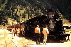 Kodak Ecktachrome image of Engine No. 478 at rest in Silverton Colorado - Click for larger image (https://jamesmcgillis.com)
