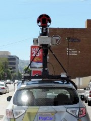 The Google Streetview cars may already be test-beds for the Google Pop Car autonomous railroad safety vehicle - Click for larger image (http://jamesmcgillis.com)