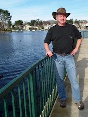 Author Jim McGillis at Westlake Village in February 2015 - Click for larger image (http://jamesmcgillis.com)