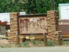 For decades, the MOAB Sign stood at the southeastern corner of old Lions Club Park - Click for larger image (https://jamesmcgillis.com)