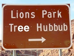 "Inattention to the Lions Park project led inevitably to what we now call the ""Moab Tree Hubbub"" - Click for larger image (http://jamesmcgillis.com)"