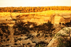 A cliff dwelling at Mesa Verde National Monument, Colorado in 1965 - Click for larger image (http://jamesmcgillis.com)