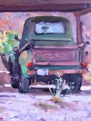 1950 Chevrolet 3100 half-ton pickup truck in Moab, Utah - Click for larger image (https://jamesmcgillis.com)