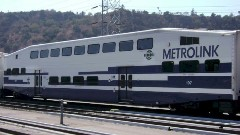 Undated photo of an obsolete Bombardier bi-level coach similar to those still included in the active Metrolink fleet - Click for larger image (http://jamesmcgillis.com)