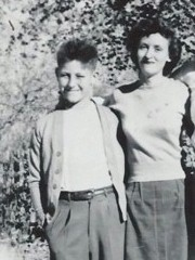 Author Bob Robertson and his sister, Maurine in 1952 - Click for full Robertson family portrait (http://jamesmcgillis.com)