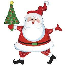 Mylar Helium Santa Claus Balloon, $15.99 at Target Stores (http://jamesmcgillis.com)