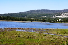 the lower reaches of Tuolumne Meadows became a seasonal lake in late June 2017 - Click for larger image (https://jamesmcgillis.com)