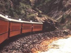 """Like """"The Little Engine That Could"""", D&RGW Engine No. 478 continues up the Animas River Canyon toward Silverton, Colorado - Click for larger image (https://jamesmcgillis.com)"""
