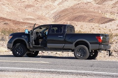 My Nissan Titan XD, on Daylight Pass, Death Valley National Park - Click for larger image (http://jamesmcgillis.com)