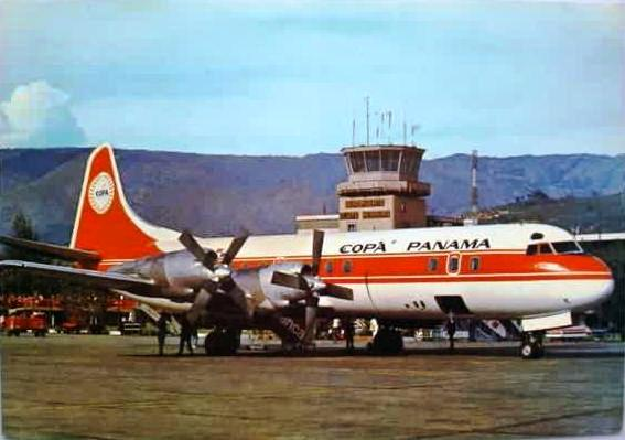 "Vintage Photo of ""Copa Panama"" Lockheed Constellation airliner - Click for larger picture (http://jamesmcgillis.com)"
