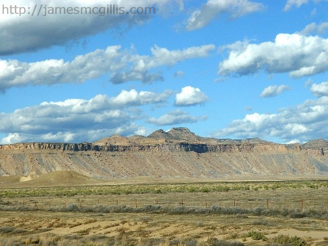 The Book Cliffs Near Crescent Junction Utah