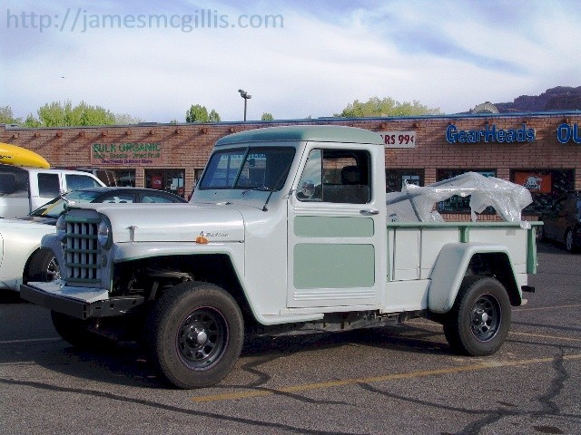 Old Jeeps For Sale Near Me >> Jim McGillis: Going to The Back of Beyond in Downtown Moab, Utah