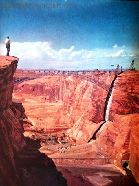 edward abbey glen canyon dam crack